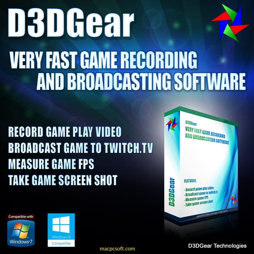 D3DGear 5.00.2284 Crack + Serial Key Latest Version [2021]