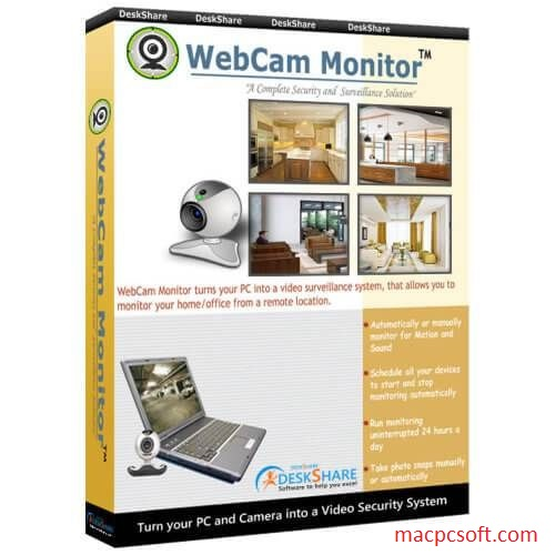 WebCam Monitor Mac