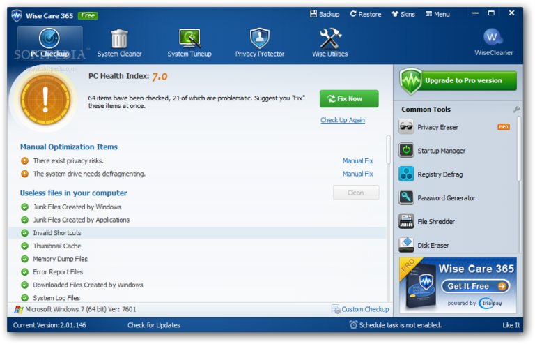 Wise Care 365 Pro 5.5.8 Build 553 + Key 2020 [Latest Version]